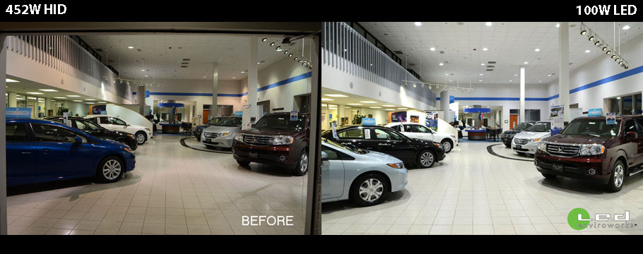 Honda Showroom Transformation